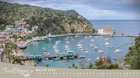 TravelBloggers.ca, Catalina Island, California