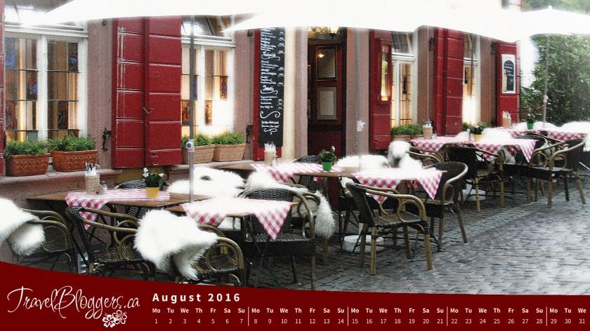 TravelBloggers.ca, TravelBloggers, Heidelberg Cafe, Heidelberg Germany