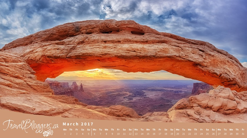 March 2017 Desktop Wallpaper Now Available Travelbloggersca