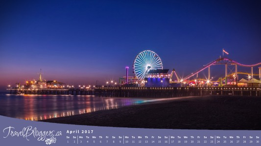 Santa Monica Pier, Wallpaper