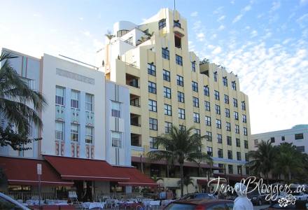 Miami Beech Art-Deco Building © 2013 ~ Iain & Gail Shankland  / TravelBloggers.ca@gmail.com