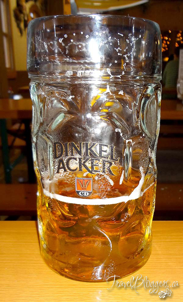 Dinkel Acker Beer - Mass