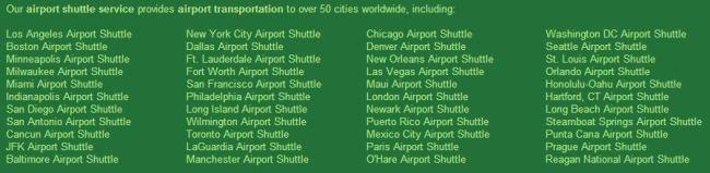 Go Airport Shuttle, TravelBloggers.ca