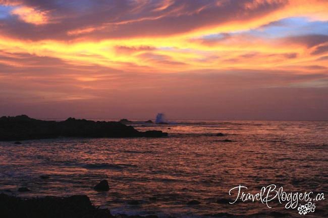 Sunset, TravelBloggers.ca, Iain Shankland & Gail Shankland