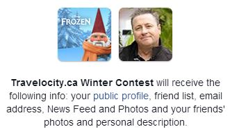 Travelocity.ca competition