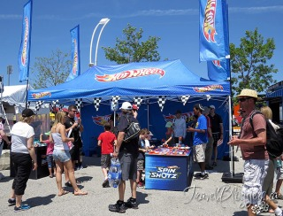 TravelBloggers.ca, Honda Indy of Toronto, Indy Car, Hot Wheels