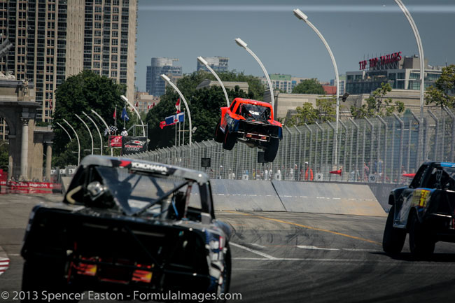 TravelBloggers.ca, Honda Indy of Toronto, Indy Car, Robby Gordon's SPEED ENERGY FORMULA OFF-ROAD TRUCKS