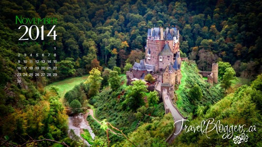 travelbloggers.ca, Burg Eltz, Eltz Castle