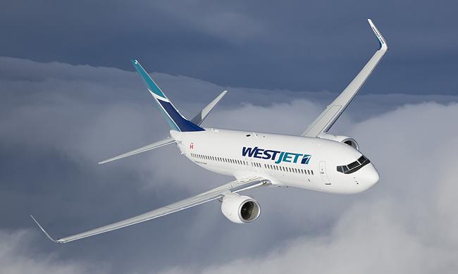 Westjet 737-800, TravelBloggers.ca