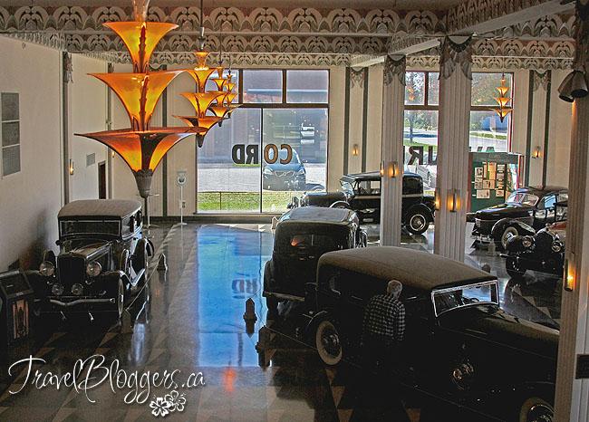Auburn Cord Duesenberg Museum, TravelBloggers.ca