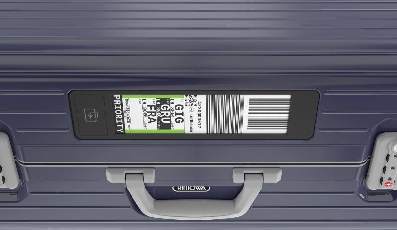 RIMOWA Electronic Tag, Travelbloggers.ca
