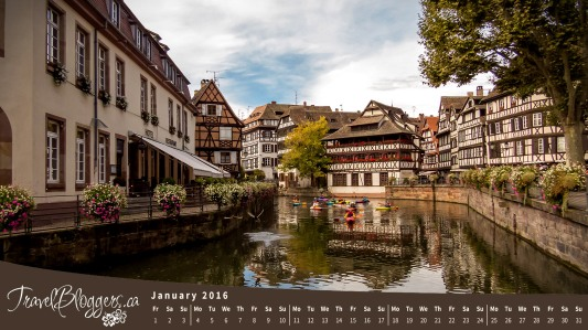Strasbourg France, La Petite France, Travel Wallpaper, Computer Wallpaper, TravelBloggers.ca