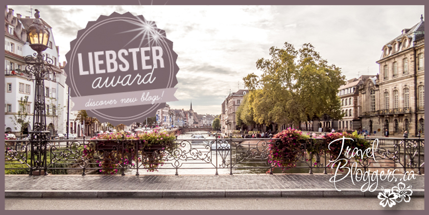 TravelBloggers.ca Liebster Award