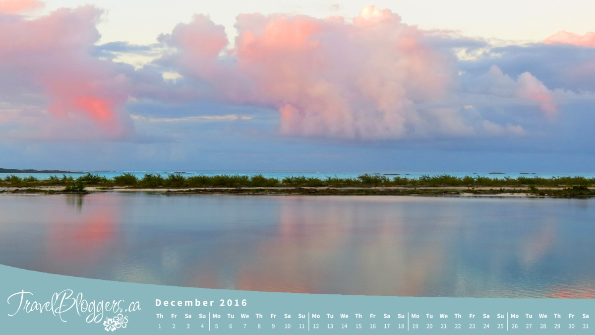 December Desktop Wallpaper Exuma Bahamas Moriah Cay
