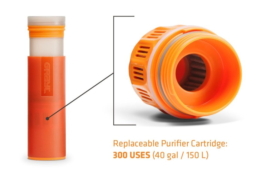 GRAYL Ultralight Purifier [+Filter] Bottle, TravelBloggers.ca