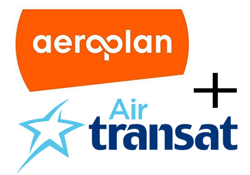Aeroplan - Air Transat Logo, TravelBloggers.ca, @Travelbloggerz