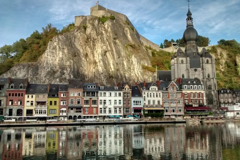 Dinant Belgium - Collegiale Notre-Dame & Citadel / Citadelle
