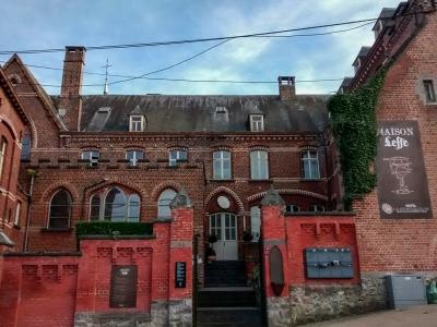 Maison Leffe Entrance, Dinant Belgium