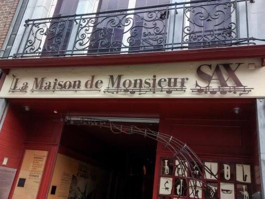Sax Museum Entrance - Dinant Belgium